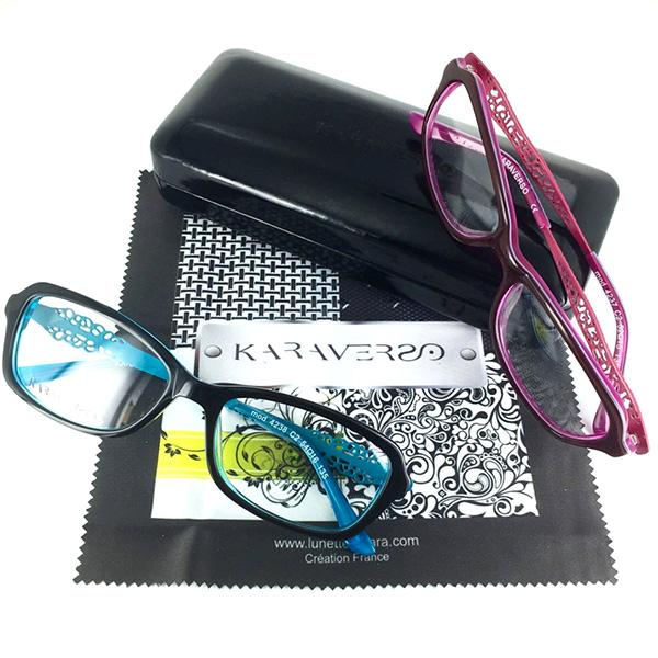 Lunettes karaverso bordelaise de lunetterie for Modele maison kara