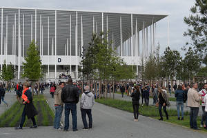 Inauguration stade bordeaux 1
